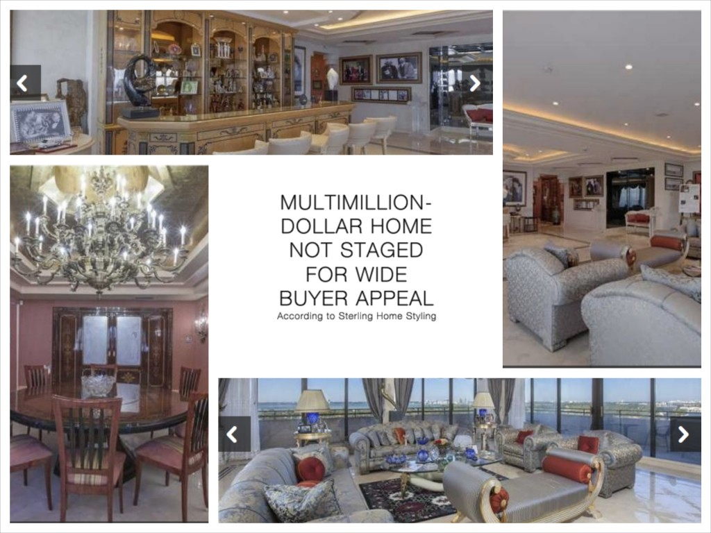 MIAMI MultiMillion-Dollar Home Not Staged for Wide Buyer Appeal